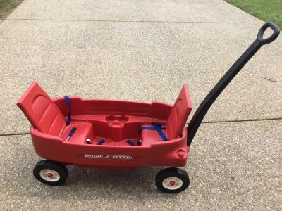 Radio Flyer 2 Seat Wagon