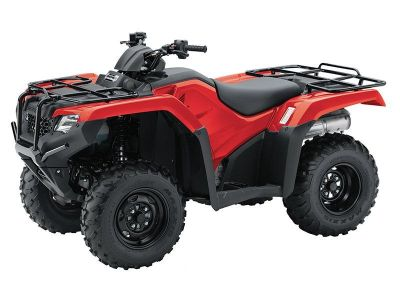 2017 Honda FourTrax Rancher 4x4 ES Utility ATVs Crystal Lake, IL