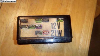 12V 1967 Black Box Flasher Relay