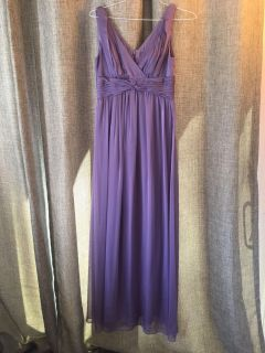 Lavender Evening Gown