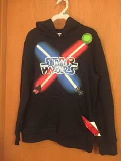 Star Wars Sweatshirt New with Tags 10-12