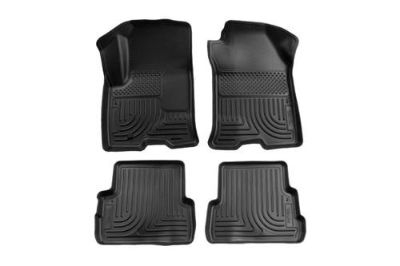Buy Husky Liners 98311 08-11 Ford Focus Black Custom Floor Mats 1st, 2nd Row motorcycle in Winfield, Kansas, US, for US $134.95