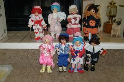 $18 Brinn Birthday Calendar clowns