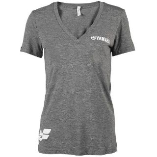 Buy YAMAHA 3X-LARGE GREY WOMENS READY SET RIDE V-NECK TEE CRW-16YGP-GY-3X motorcycle in Maumee, Ohio, United States, for US $24.99