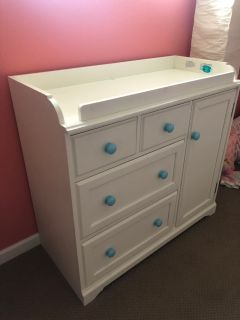 Pottery Barn Changing Table and Dresser