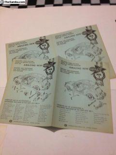 Empi GTV MK 1-2-3-4 booklets
