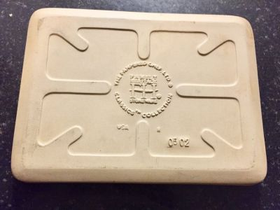 """Pampered Chef Mini Bar Pan Stone 9 1/2"""" x 7"""" Classics Collection"""