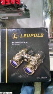 For Sale: Leupold bx-4 guide binoculars