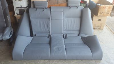 BMW e46- complete interior back seat assembly