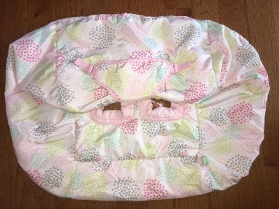 pink cart cover