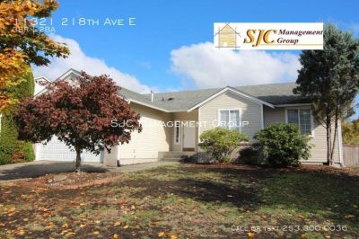 One story home for rent in Bonney Lake