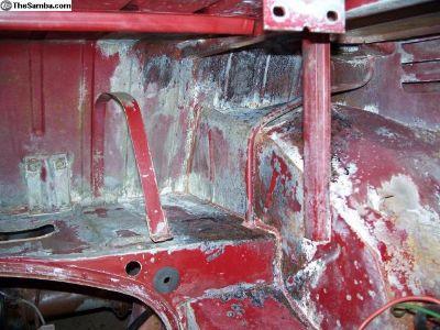[WTB] Wanted- '67 rear seat belt mount points