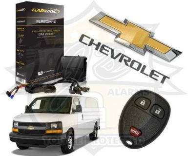 Purchase 2016 CHEVY EXPRESS VAN PLUG & PLAY REMOTE START SYSTEM CHEVROLET FLRSGM10 motorcycle in Fresno, California, United States, for US $149.91