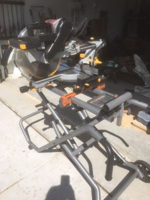 Miter Saw and Portable Stand