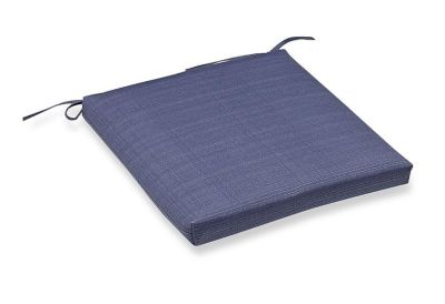 Forsythe Outdoor Square Bistro Seat Cushion in Denim-NEW-2 in Stock