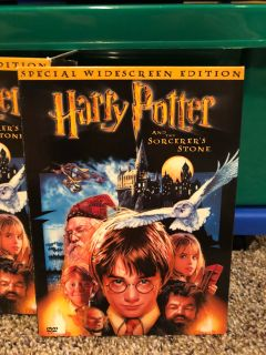 Harry Potter and the Sorcerer's Stone [DVD] Brand New In Storage Case. Never Opened Except For Me To Take These Pictures