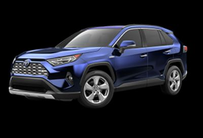 2019 Toyota RAV4 (blueprint)