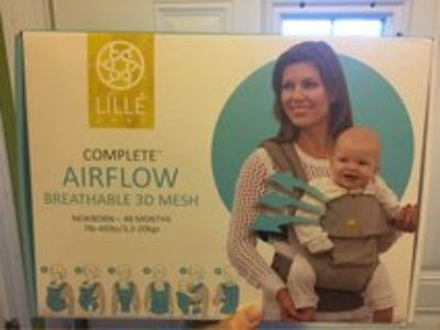 Lille baby 6 in 1 airflow complete baby carrier in anchor print