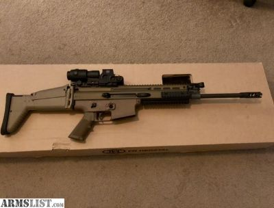 For Sale: FN Scar 17 New and unfired in FDE
