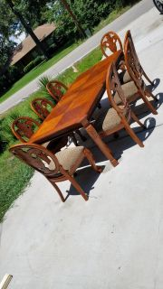 8 chair dining room kitchen table