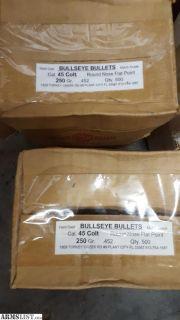 For Sale: 44 long colt bullets