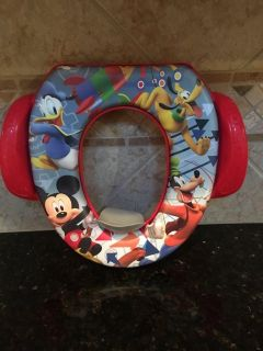 Mickey Mouse Potty Seat. Never used, nwot. $4. Quick pick up behind YMCA
