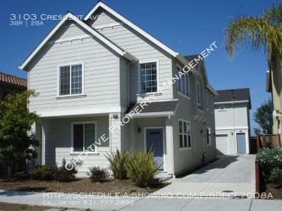 3 Bedroom House in Marina, CA