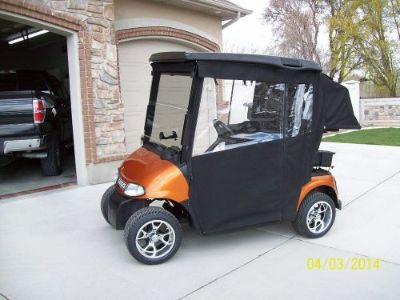 Purchase SUNBRELLA EZGOTXT W/BAG PROTECTOR GOLF CART ENCLOSURE COVER TRACK STYLE SNAPS motorcycle in North Little Rock, Arkansas, United States, for US $559.00