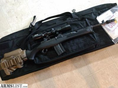 For Trade: Suppressor Ready Mini 14 Tactical with extras