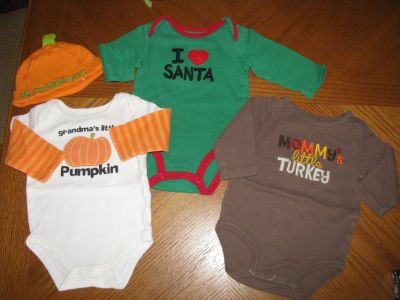 Baby Clothes-Holiday Set