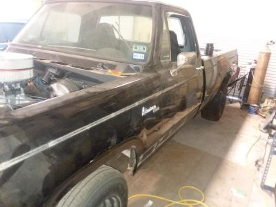 For Sale or Trade Project 79 Dodge D150 Street Rod