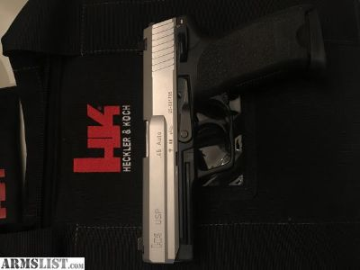 For Sale/Trade: Stainless Full Size HK USP .45ACP