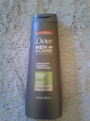 Dove Men +Care Fortifying shampoo & Conditioner New, Factory Sealed