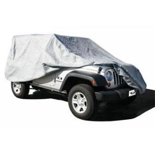 Buy 07-12 Rampage Jeep Wrangler JK 4 Door Full Car Cover 4 Layer Gray w/ Cable Lock motorcycle in Buena Park, California, US, for US $89.99