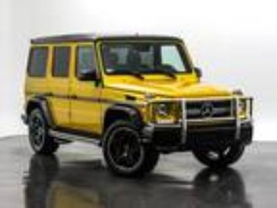 Used 2016 Mercedes-Benz G-Class Solarbeam, 35.3K miles