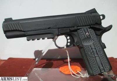 For Sale: COLT/TALO COMBAT UNIT RAIL GUN GOVERNMENT MODEL 45ACP