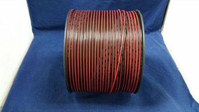 Purchase 20 GAUGE 100 FT RED BLACK ZIP WIRE AWG CABLE POWER GROUND STRANDED COPPER CAR motorcycle in Mulberry, Florida, United States, for US $14.95