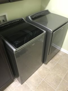 Whirlpool Cabrio High Efficiency Electric Washer and Dryer