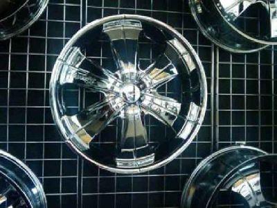 "$850 22 "" chrome velocity rims"