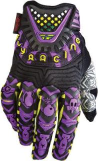 Sell Fly Racing Evolution Adult Mens MX ATV Offroad Gloves Purple Small 365-11808 motorcycle in Lee's Summit, Missouri, US, for US $33.26