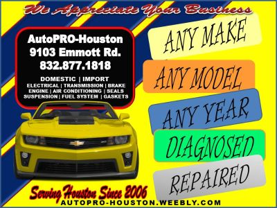 Auto Repairs for LESS | Houston | Katy Spring Branch TX