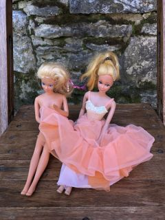 Two Barbie s 1966