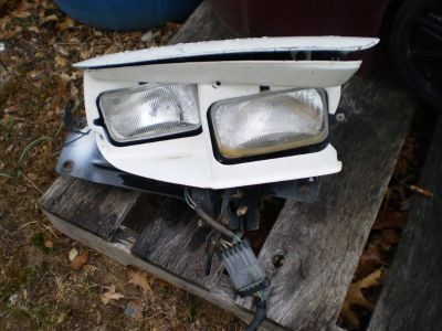 98-02 PONTIAC TRANS AM FIREBIRD HEADLIGHT HEAD LIGHT LAMP PASSENGER RIGHT WITH MOTOR