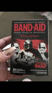 Star Wars band aids NEW