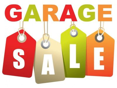 Cleaning out the Garage! Driveway Sale Saturday 10/13 & Sunday 10/14 9-3