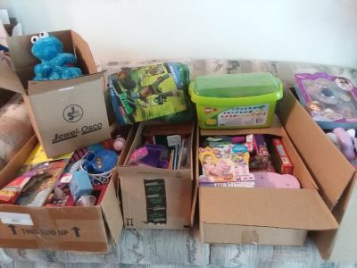 HUGE Lot of children's toys! Many NEW in packages!