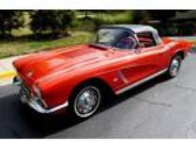 1962 Chevrolet Corvette Roadster Red