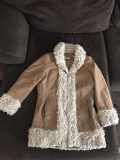 GIACCA Woman s Suede Jacket