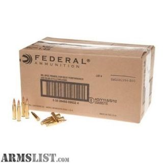 For Sale: 1,000 rounds of American Eagle 223s (AE223BK)