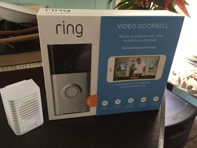 Ring door bell and chime